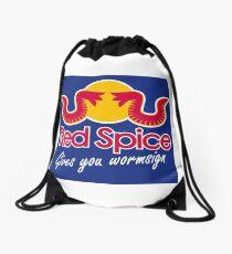 Red Spice Drawstring Bag