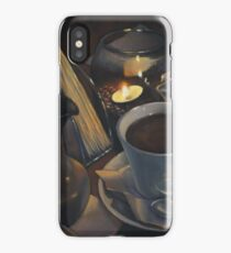 Still life with coffee iPhone Case