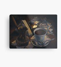 Still life with coffee Metal Print