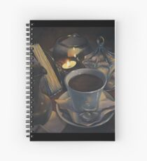 Still life with coffee Spiral Notebook