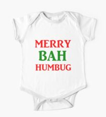 MERRY BAH HUMBUG Kids Clothes