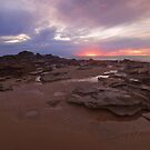 entrance point wet season sunset  by Elliot62