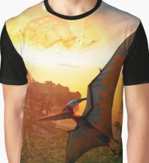 Pteranodon - Deadly Impact Graphic T-Shirt