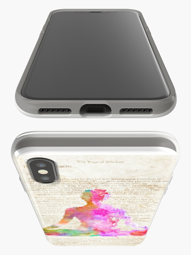 Alternate view of Yoga Book, COLORS version iPhone Case & Cover