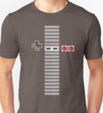 NES Buttons (Full Stripes) Unisex T-Shirt