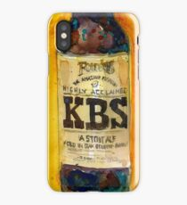 Stout Ale - KBS Founders Brewing Co. Man Cave iPhone Case/Skin