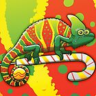 Christmas Chameleon by Zoo-co