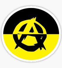 Voluntaryism is Anarchy Sticker