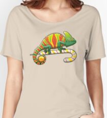 Christmas Chameleon Women's Relaxed Fit T-Shirt
