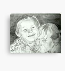 The Headlock of Love Canvas Print