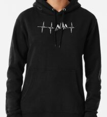 MOUNTAIN IN MY HEARTBEAT T SHIRT  Pullover Hoodie