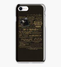 Captain Quotes Phone Case iPhone Case/Skin