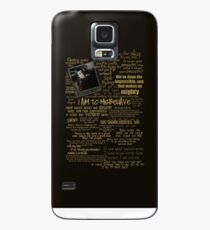 Captain Quotes Phone Case Case/Skin for Samsung Galaxy
