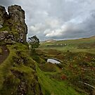 Castle Ewen and the Faerie Glen. by Roddy Atkinson