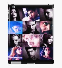 Shadowhunters Season 2 Collage iPad Case/Skin