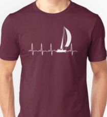 SAILING IN A HEARTBEAT T SHIRT T-Shirt