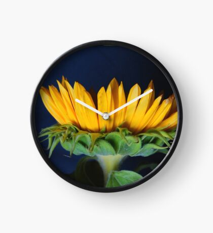 Yellow Petals Clock