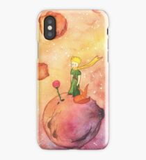 Prince, Rose and Fox  iPhone Case/Skin