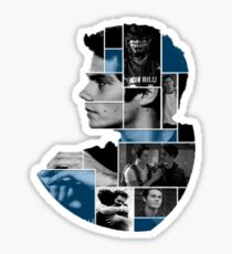 Dylan O'Brien Squares Sticker