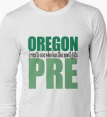 Steve Prefontaine Legend Long Sleeve T-Shirt