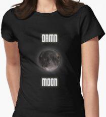 Damn moon Women's Fitted T-Shirt