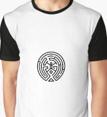 Westworld Black Maze Original Graphic T-Shirt