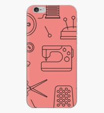 Sewing Pattern iPhone Case