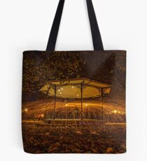 Band of fire  Tote Bag