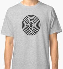 Westworld Black Maze Original Classic T-Shirt