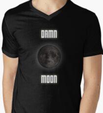 Damn moon Men's V-Neck T-Shirt