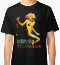 MISSING PERSONS Dale Bozzio Tour Japan Classic T-Shirt
