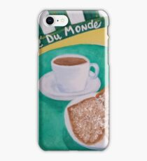 Coffee and Beignets iPhone Case/Skin