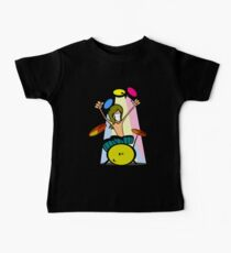 Drummer Cartoon Kids Clothes