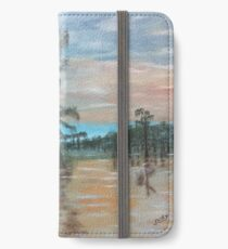 Sunset on Henderson Swamp iPhone Wallet/Case/Skin