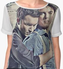 Little Ditty 'Bout Jack and Ianto Women's Chiffon Top