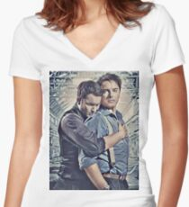 Little Ditty 'Bout Jack and Ianto Women's Fitted V-Neck T-Shirt