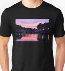 Impressions of Rome - Glorious Sky Over Tiber River T-Shirt