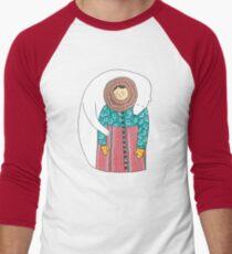 Lady And Her Polar Bear Friend T-Shirt