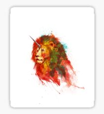 King of Fantastic Beasts Sticker