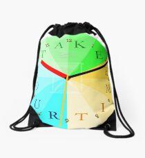 Take Your Time Drawstring Bag