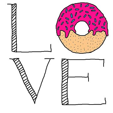 LOVE Donut by amillusions