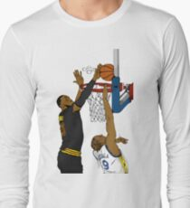The block Long Sleeve T-Shirt