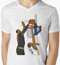 The block Men's V-Neck T-Shirt
