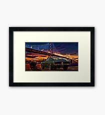 Frank Bullitt Framed Print