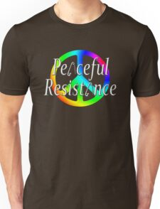 #Peaceful #Resistance - Rainbow, small Unisex T-Shirt