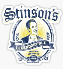 Stinson's Legendary Ale Sticker