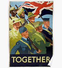 British WWII Poster - Together (1944) Poster