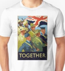 British WWII Poster - Together (1944) Unisex T-Shirt