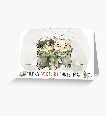 Vikturi Christmas Card Greeting Card
