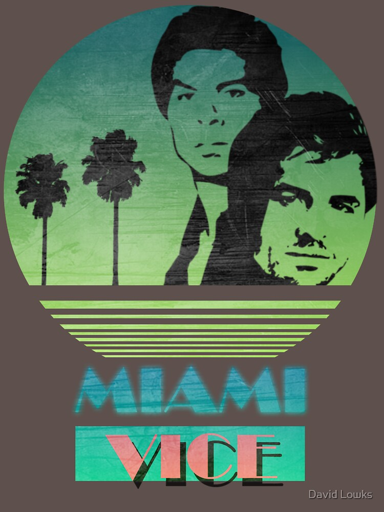 Miami Vice T-shirt for Men